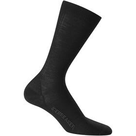 Icebreaker Lifestyle Ultralight miesten sukat, musta